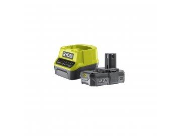 Ryobi RC18120-120 - sada 18 V lithium iontová baterie 2 Ah s nabíječkou RC18120 ONE+