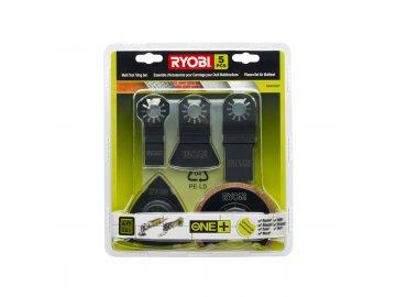 Ryobi RAK05MT - 5ti dílná sada příslušenství k multifunknímu nářadí