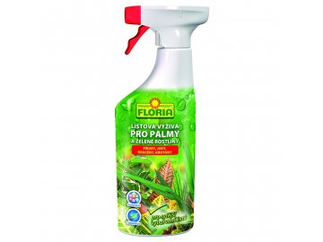 FLORIA Listová výživa pro zelené rostliny a palmy 500 ml