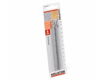KRT010504 - Vrták univerzální 8x120 mm