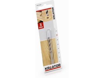 KRT010601 - Vrták do dřeva 3x60 mm