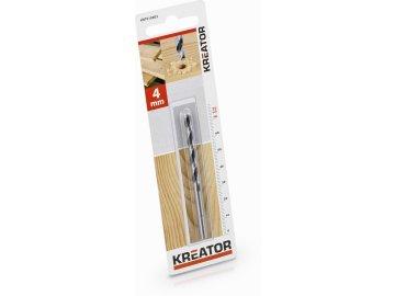 KRT010602 - Vrták do dřeva 4x75 mm