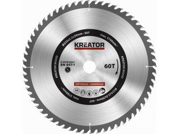 KRT020437 - Pilový kotouč na dřevo 235mm 60T