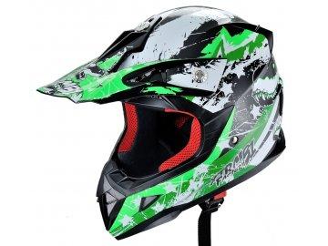 HECHT 54915 XL - přilba pro čtyřkolku a motocykl
