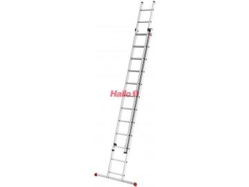 Hailo ProfiStep duo 2x12 příček - hliníkový žebřík