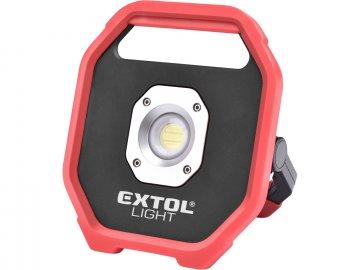 reflektor LED, 1200lm, na baterie