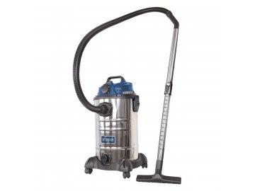 Scheppach ASP 30 ES - průmyslový vysavač na suché/mokré vysávání 30 l