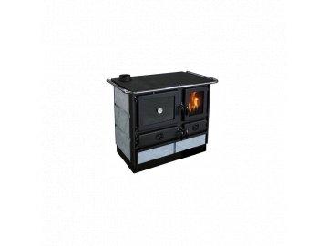 sporak na tuha paliva s vymenikem mbs thermo magnum plus cerny s mastkovym obkladem levy 32211