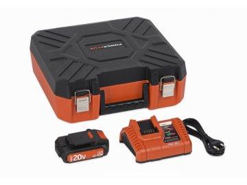 POWDP9066 - Nabíječka 20V/40V  plus  Baterie 20V LI-ION 1,5Ah