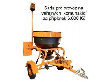 Rozmetadlo soli a umělých granulovaných hnojiv KRH 04