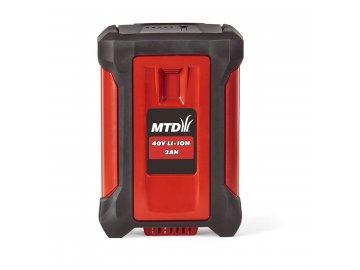 MTD 40 V lithium iontová baterie 2 Ah