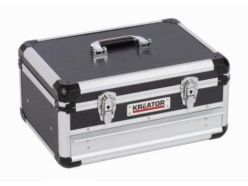 KRT640601B - Hliníkový kufr 430x300x205mm 1 zásuvka
