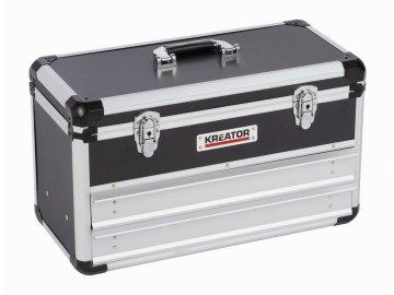KRT640602B - Hliníkový kufr 523x240x305mm 2 zásuvky