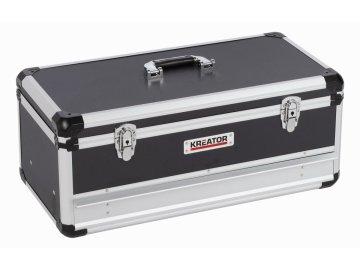 KRT640603B - Hliníkový kufr 620x300x255mm 1 zásuvka