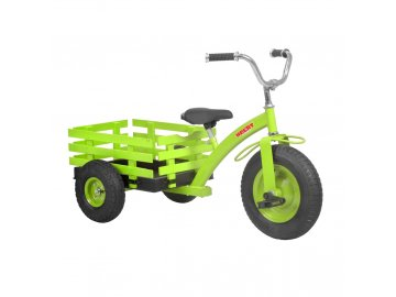 HECHT 59790 GREEN - šlapací tříkolka