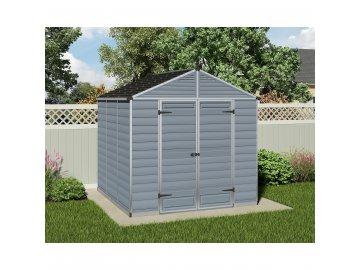 Palram Skylight 8x8 šedý - zahradní domek