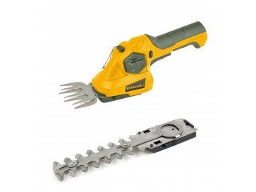 Riwall PRO RASH 1236 - aku nůžky 3,6 V na trávu a keře