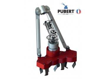 PUBERT W4 - mechanický odplevelovač na křovinořez