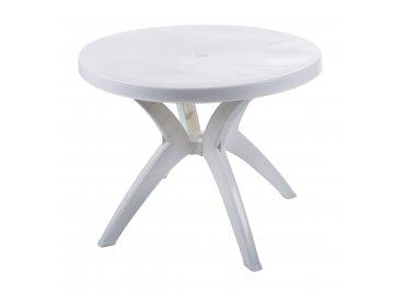 Plastový stůl G21 kulatý, 92 cm