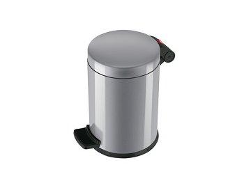 Hailo Solid S stříbrný - odpadkový koš