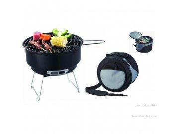 Kemping Grill BBQ + chladící taška