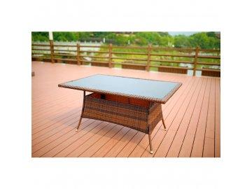 Ratanový stůl Ebro