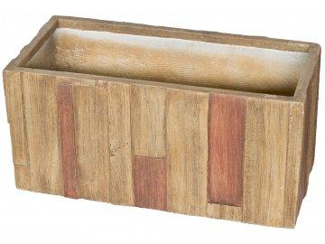 Květináč G21 Wood Box 99cm