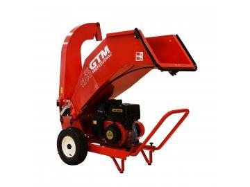 GTM GTS 1300M - drtič dřeva s benzinovým motorem