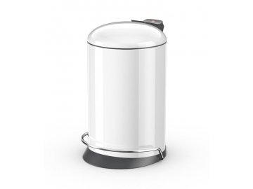 Hailo ProfiLine Solid 16 bílý lak - odpadkový koš