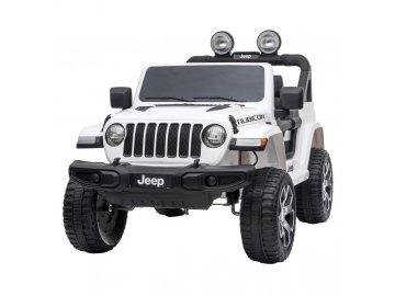 Jeep Wrangler Rubicon White - akumulátorové autíčko