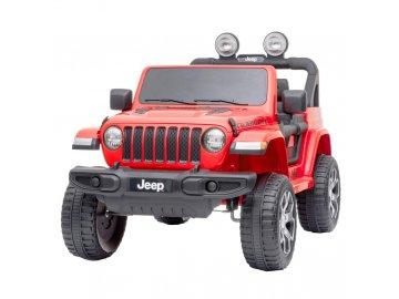 Jeep Wrangler Rubicon Red - akumulátorové autíčko