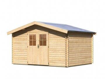 dřevěný domek KARIBU MÜLHEIM 6 (88598) natur