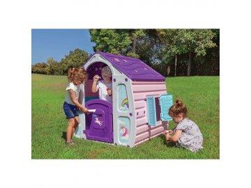 Dětský zahradní domeček UNICORN MAGICAL HOUSE