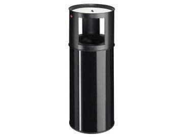 Odpadkový koš s popelníkem ProfiLine care 40 černý