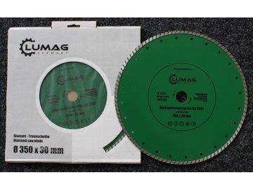 Lumag DS350T TURBO (zelený) - řezný kotouč