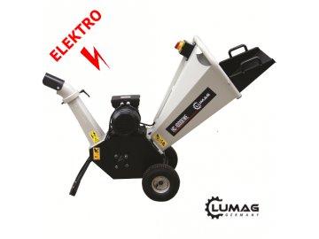 Elektrický štěpkovač dřeva RAMBO-HC10E