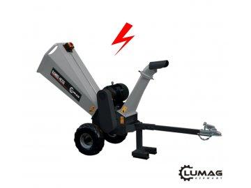 Elektrický štěpkovač dřeva RAMBO HC-15E