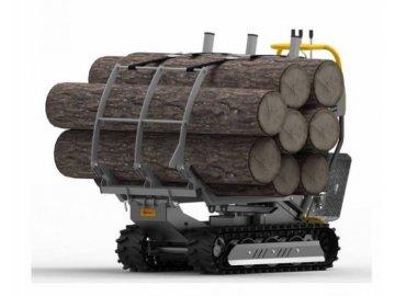 Nástavba pro přepravu dřeva Lumag VH 500/GX/D
