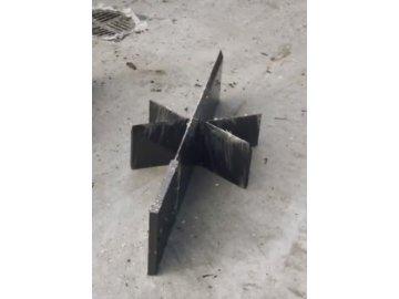 Štípací 6-ramenný kříž