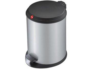 Hailo T1.13 stříbrný - nášlapný odpadkový koš