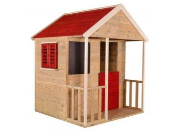 Domeček dětský dřevěný Veranda