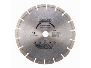 L001250 - Diamantový kotouč segmentový 250 x 25,4 x 10mm LSS