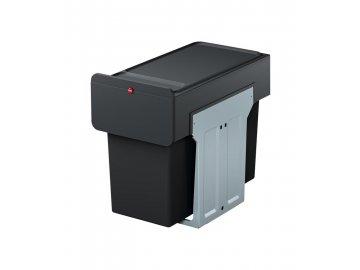 Hailo EcoLine Design L - vestavný koš, výsuvný třídič odpadu