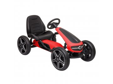 MERCEDES BENZ PEDAL GO KART RED