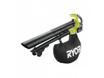 Ryobi RBV1850 - aku 18V bezuhlíkový foukač/vysavač + 1x 5Ah baterie + nabíječka ONE+