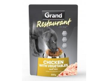 Grand Restaurant Kuřecí na zelenině 300 g