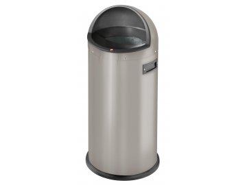 Hailo Quick 50 perletově šedá - velkoobjemový odpadkový koš