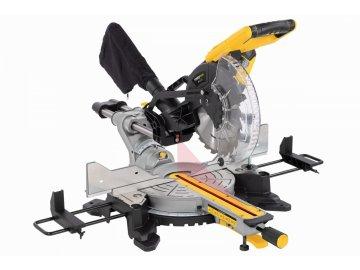 POWX075740DB - Pokosová pila s potahem a oboustranným náklonem 2 200W / 254mm