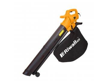 Riwall PRO REBV 3200 e - vysavač/foukač s elektrickým motorem 3200 W