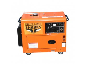 Elektrocentrála D6700LES Diesel Silent